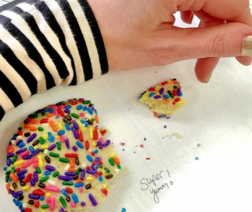 Sprinkle cookie