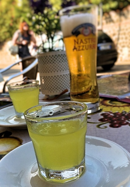 Limoncello after a long day